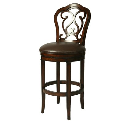 Wynter 30.25 Swivel Bar Stool Seat Height: 30