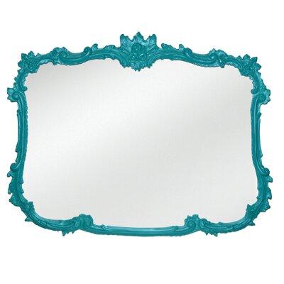 Rogan Wall Mirror Finish: Cool Blue Aqua
