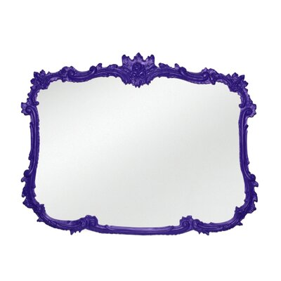Buffet Wall Mirror Finish: Violet