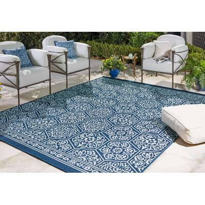 Elmer Outdoor Area Rug Rug Size: Rectangle 53 x 76