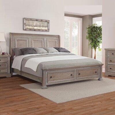 Heatherstone Storage Sleigh Bed