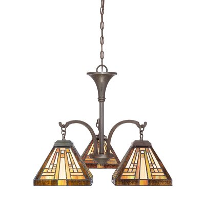 Diahna 3-Light Mini Chandelier