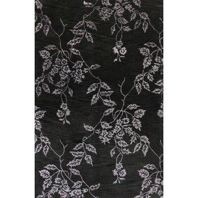 Shasta Hand-Tufted Black Area Rug