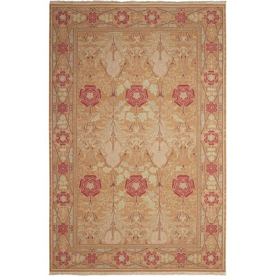 Dana Handmade Gold Area Rug Rug Size: Rectangle 510 x 810