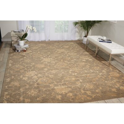 Forres Moss Area rug Rug Size: Rectangle 56 x 8
