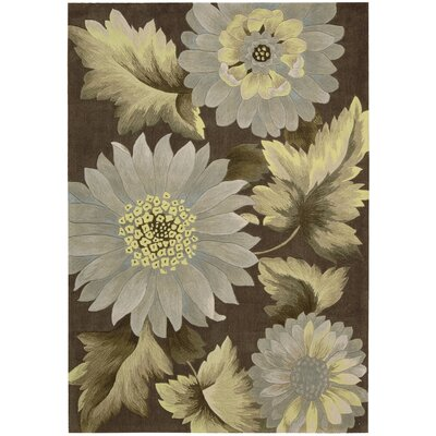 Earnestine Latte Rug Rug Size: Rectangle 73 x 93