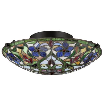 Yerres 2-Light Semi Flush Mount