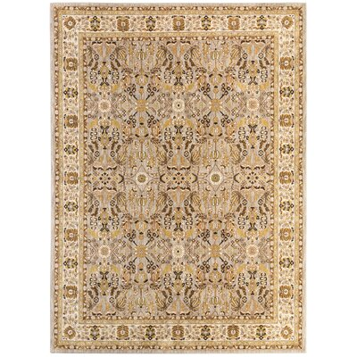 Jepson Silver/Gold Area Rug Rug Size: Rectangle 53 x 710