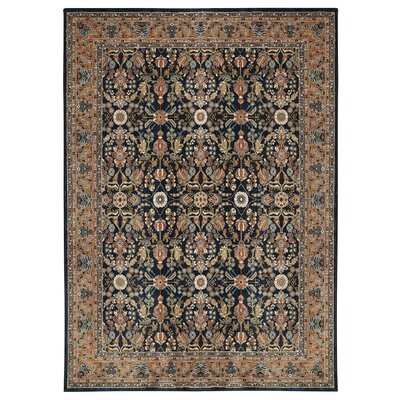 Jepson Midnight/Spice Area Rug Rug Size: Rectangle 8 x 11