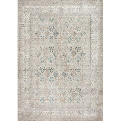 Cole Gray Area Rug Rug Size: Rectangle 4 x 6
