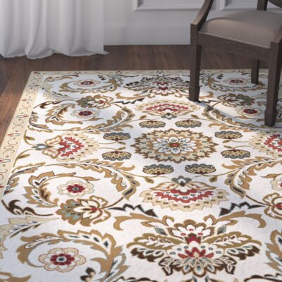 Evans Cream/Beige Area Rug