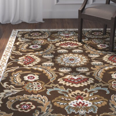 Evans Brown/Cream Area Rug
