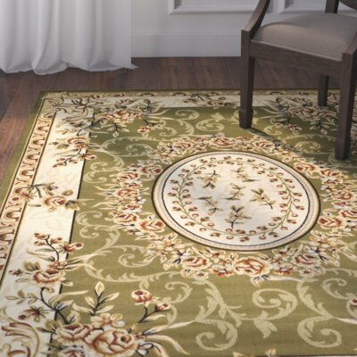 Taufner Sage Area Rug Rug Size: Rectangle 33 x 53