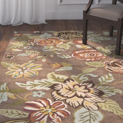 Jani Brown Area Rug Rug Size: Runner 23 x 8