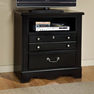 Arbouet with Marbella Top 3 Drawer TV Chest