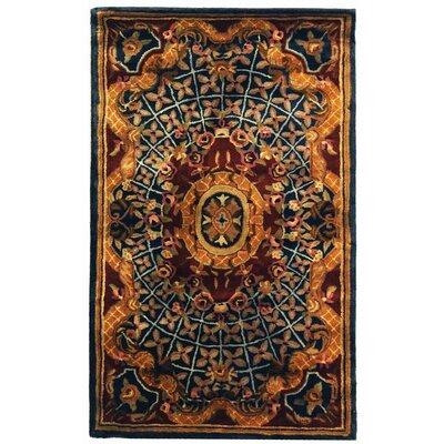 Murillo Josephine Wool Rug Rug Size: 76 x 96