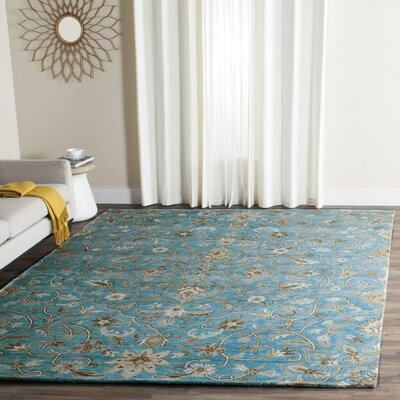 Davila Hand-Tufted Area Rug Rug Size: Rectangle 4 x 6