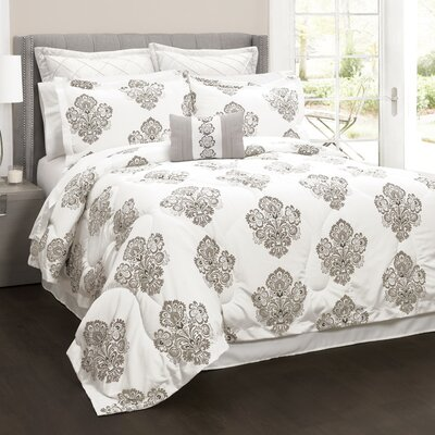 Azaria 6 Piece Comforter Set Size: Full/Queen