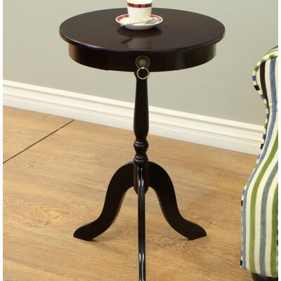 Hugh Pedestal End Table