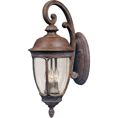 Sundorne 3-Light Outdoor Wall Lantern