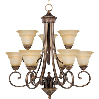 Altamont 9-Light Shaded Chandelier