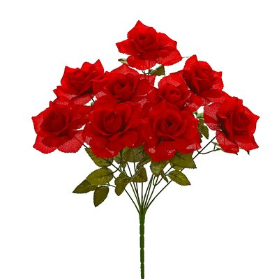 Rose Bush Flowers (Set of 12)
