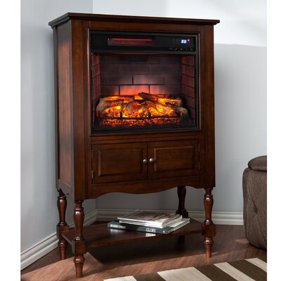Goldener Antique Infrared Electric Fireplace