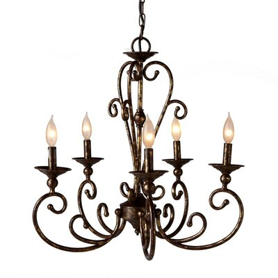 Altitude 5-Light Candle-Style Chandelier