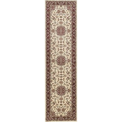 Barwon Ivory/Red Area Rug Rug Size: Rectangle 33 x 411