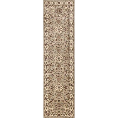 Barwon Beige/Ivory Area Rug Rug Size: Rectangle 53 x 77