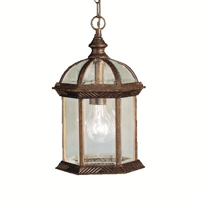 Kyla 1-Light Foyer Pendant Finish: Tannery Bronze
