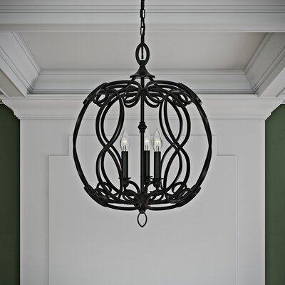 Crebilly 3 Light Globe Pendant