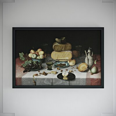 Cheese and Fruit Framed Photographic Print
