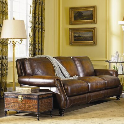 Goldhorn Leather Sofa