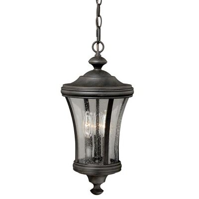 Bronzewood 1-Light Foyer Pendant