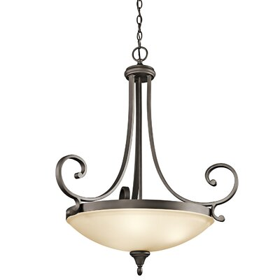 Bretton 3-Light LED Bowl Pendant