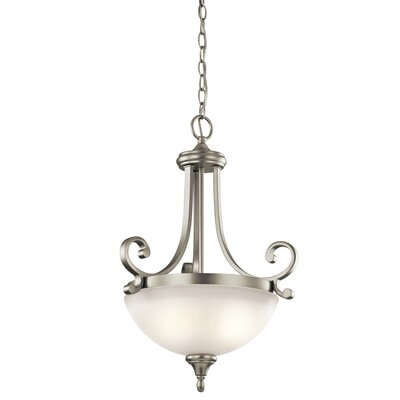 Bretton 2-Light Bowl Pendant