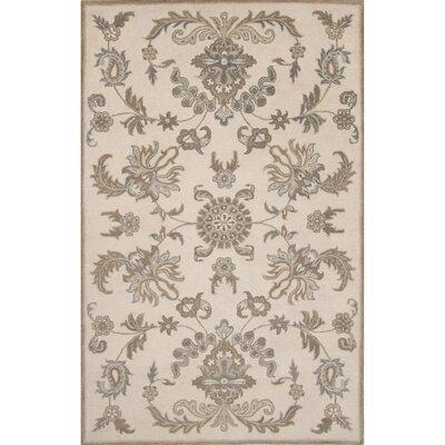 Louisa Wool Hand-Tufted Ivory/Brown Area Rug
