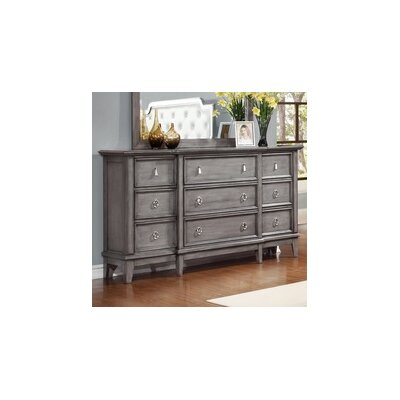 Palmisano 9 Drawer Dresser
