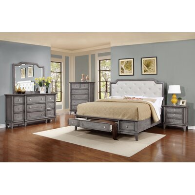 Sterling Platform Customizable Bedroom Set
