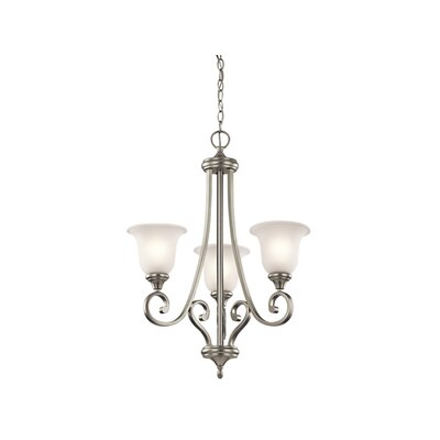 Bretton 3-Light LED Shaded Chandelier
