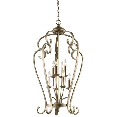 Greenwald 8-Light Candle-Style Chandelier Size: 40.75 H x 23 W
