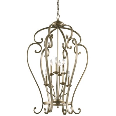 Greenwald 8-Light Candle-Style Chandelier Size: 44.75
