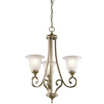 Bretton 3-Light Shaded Chandelier
