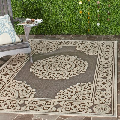Parsons Taupe Area Rug Rug Size: Runner 23 x 8