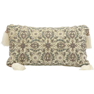 Pouliot Wire Embroidery Lumbar Pillow