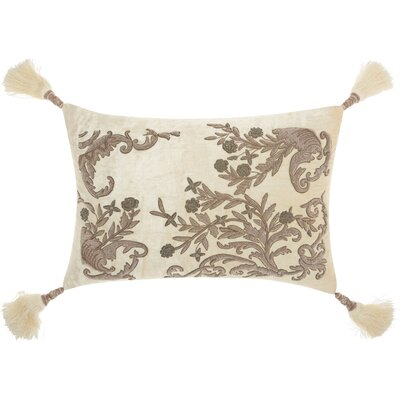 Poulsen Wire Embroidery Lumbar Pillow