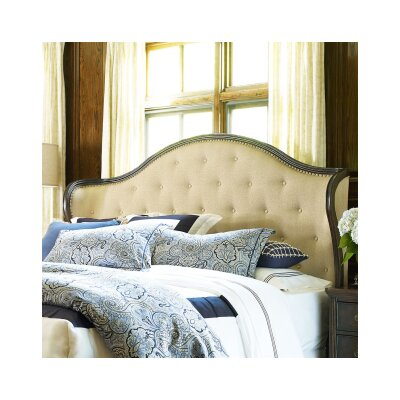 Finnegan Upholstered Wingback Headboard Size: King