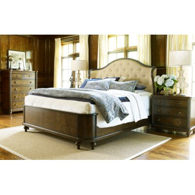 Finnegan Upholstered Panel Bed Size: California King