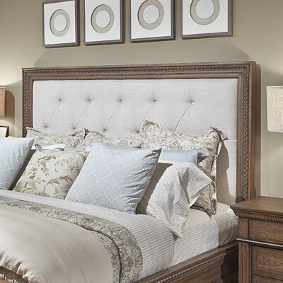 Deverel Upholstered Panel Headboard Size: Queen